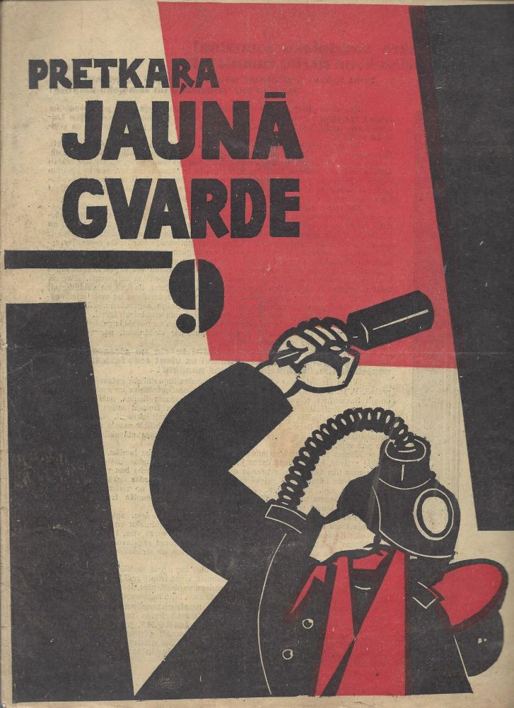 Pretkara JAUNA GVARDE. Rakstu krājums. 9. [The Antiwar NEW GUARD. Collection of Articles. No. 9.]. Julijs Alsins.