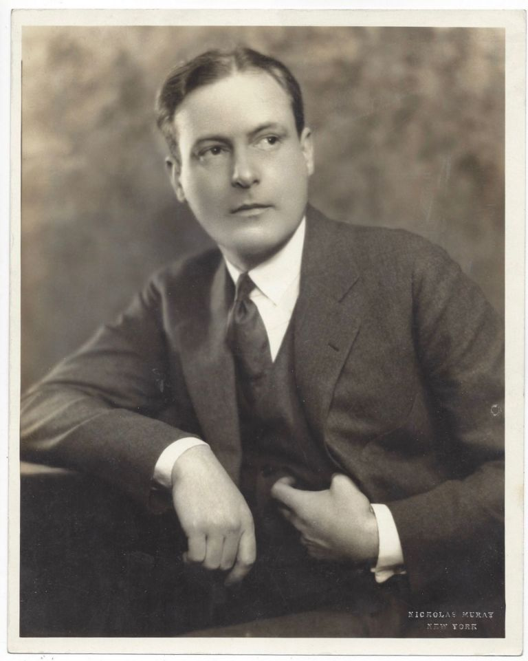Porrtrait of Marshall Boyd. Nickolas Muray, Boyd Marshall.
