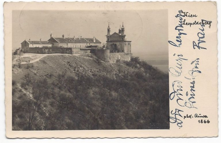 Franz Lehár's Holograph Postcard to His Brother-In-Law. Franz Lehár.