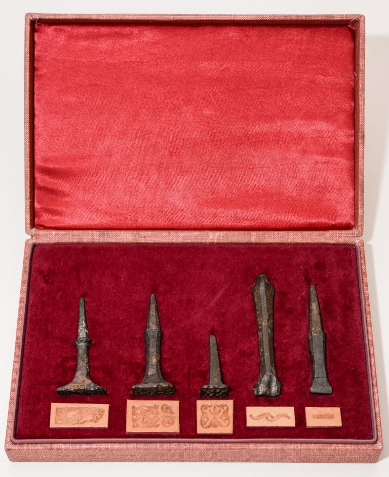 A Collection of Five 16th Century Polish Binding Tools