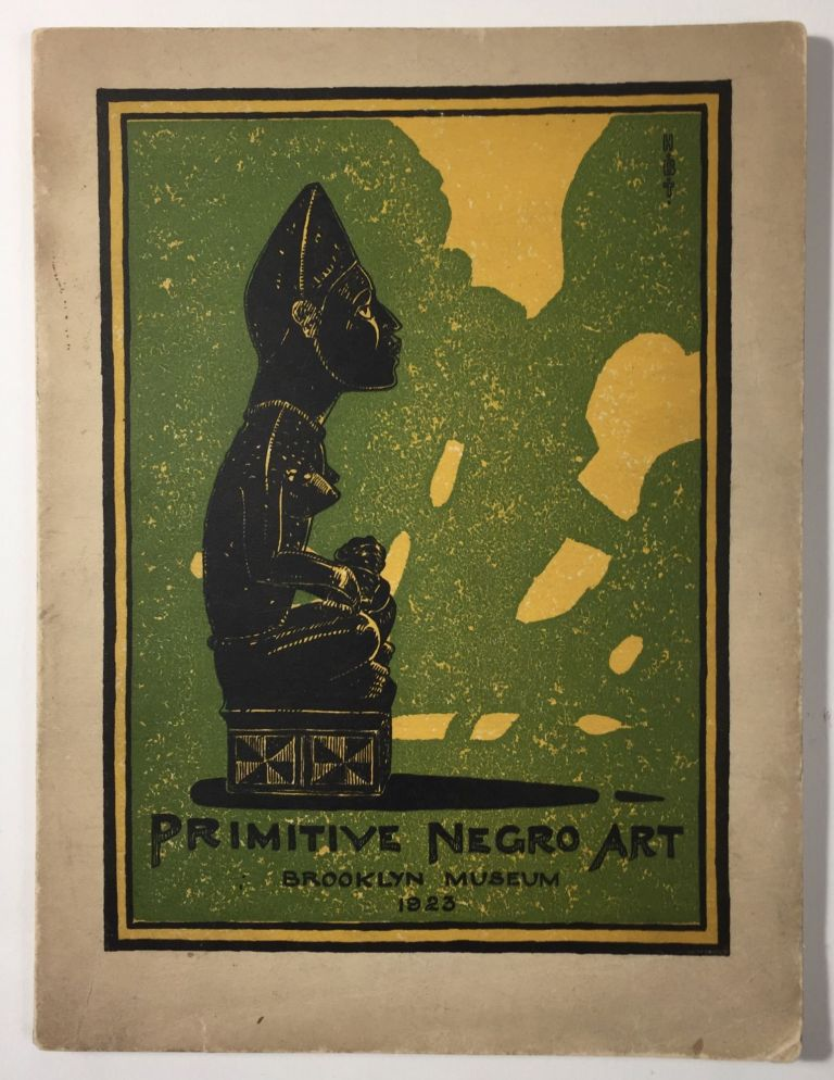 Primitive Negro Art, Chiefly from the Belgian Congo. Stewart Culin.