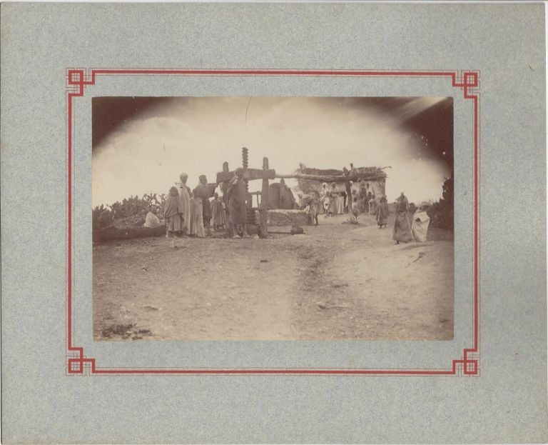 Extensive Collection of Photographs of Greater Kabylia and the Kabyles, 1888–1889. François Charvériat.