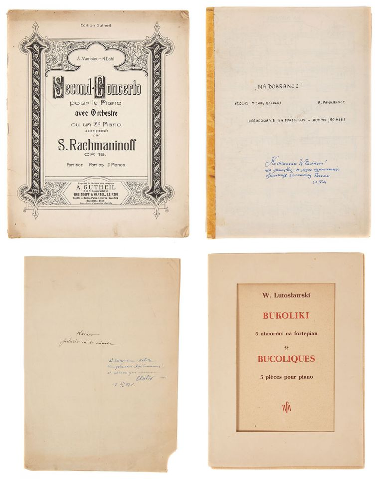 Collection of Sheet music from Wladyslaw Szpilman collection