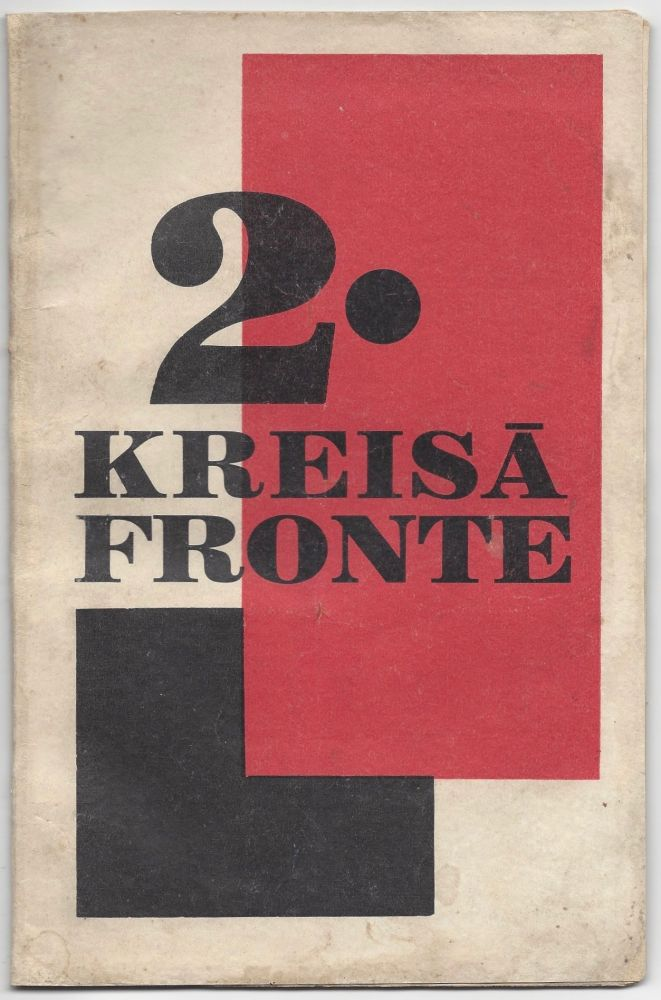 Kreisa Fronte / Kreisā fronte. N. 2. 1. V. 1929. [Left Front. No. 2. May 1, 1929.]. Linards Laicens.
