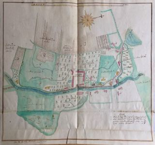 Cadastral Maps of the Domains of the Hochberg Family in Lower Silesia. Hans Heinrich V. von...