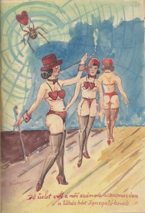 A Collection of Circus-Related Socialist Realist, Illustrated, Handwritten Booklets of Poems and Prose.