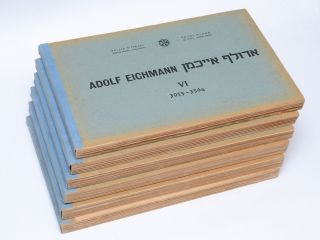 [Cover title:] Adolf Eichmann. אדולף אייכמן I[–VI]. 1–606[–3564].