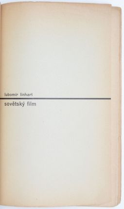 Sovetsky film. Monografie SSSR, Umení, 28. [The Soviet film.]