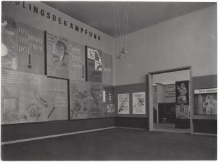 Collection of Five Photographs of the International Hygiene Exhibition in Dresden, 1930.