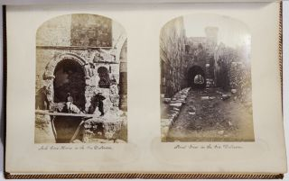 Photo Album of] Jerusalem 1865. James McDonald, Henry James, Peter Bergheim