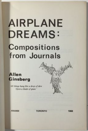 Airplane Dreams: Compositions from Journals.