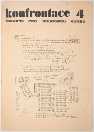 Konfrontace. 1[–4. Casopis pro soudobou hudbu.] Mesícník pro soudobou hudbu. [Confrontation: Contemporary Music Monthly.] [Complete Set of Four Issues.]