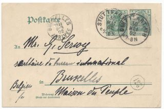 Signed Autograph Postcard in French to Victor Serwy.
