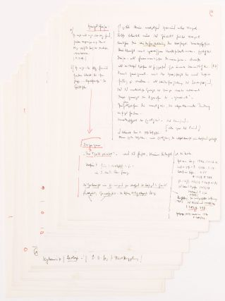 "Heidegger's Autograph Notes and Comments on the Transcript of Gadamer's Lecture ""Von Hegel bis Heidegger"""