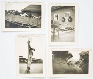 Collection of 91 Photographs by an American World War II Soldier In Germany