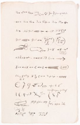 A Collection of 19th-Century Austrian Police Documents Related to the Use and the Users of Gaunerzinken (Hobo Signs).