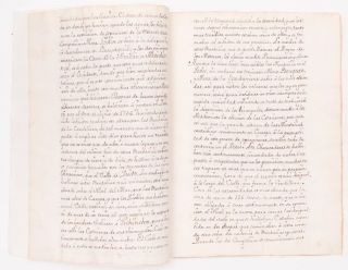 18th-Century Manuscript On the Spanish Role in the French Geodesic Mission, and the Figure of the...