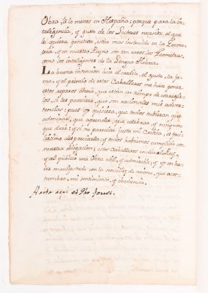 18th-Century Manuscript On the Spanish Role in the French Geodesic Mission, and the Figure of the Earth.