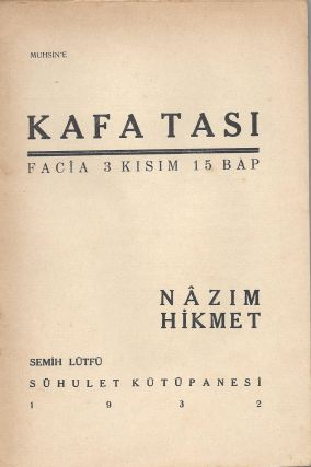 Kafatasi. Facia 3 Kisim 15 Bap. [The Skull. Tragedy in 3 Acts.]