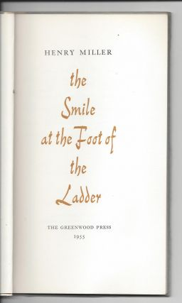 The Smile at the Foot of the Ladder.