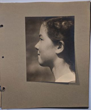 Photo Album by Ivor Goddard. Ivor Goddard, Jacqueline Barsotti, Man Ray