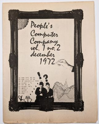 People's Computer Company. Vol 1. No. 1 (–3).