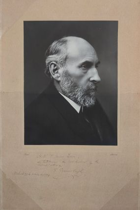 Signed Photographic Portrait of Santiago Ramón y Cajal