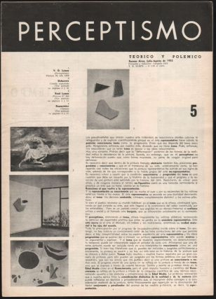 Perceptismo. Teórico y Polémico. No. 1 (October 1950) to 6 (January 1953).