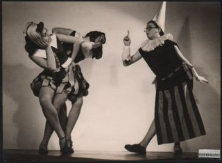 Photograph of the Szentpál Dance Group. Erzsébet Leichtner, Olga Szentpál