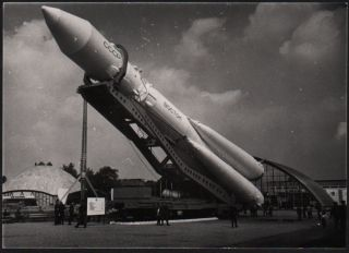 Vostok Rocket, Spacecraft and Sputniks. A collection of 6 photographs
