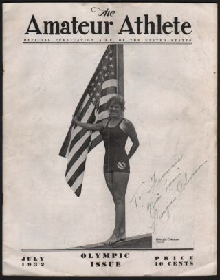 The Amateur Athlete. Official Publication A[mateur]. A[thlete]. U[nion]. of the United States....
