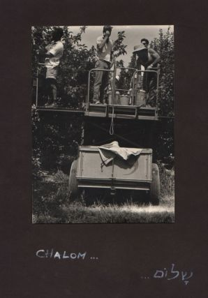 Photo Album For Sartre from the Kibbutz Lehavot HaBashan.