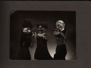 Photoalbum With Images of Performances at the State Puppet Theatre.