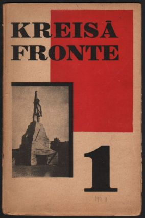 Kreisa fronte. [Left Front.] 1928. No. 1–6. Linards Laicens