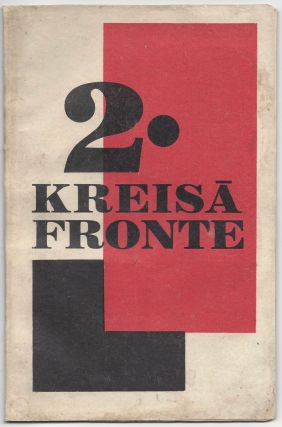Kreisa Fronte / Kreisā fronte. N. 2. 1. V. 1929. [Left Front. No. 2. May 1, 1929.]. Linards Laicens