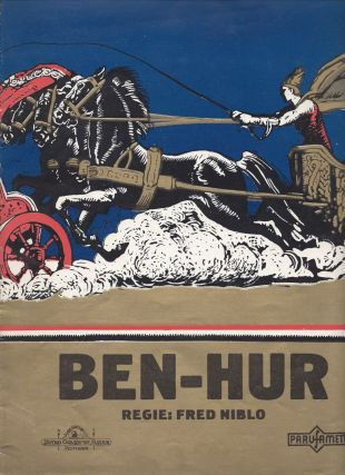 Ben Hur. [Motion Picture Program.]. Lew Wallace, Fred Niblo