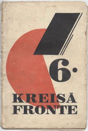 Kreisa fronte. N. 6. 1. XII. 1929. [Left Front. No. 6. December 1, 1929.]. Linards Laicens