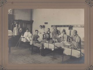 Photo-Documentation of Occupational Therapy for Wounded and Mentally Ill Soldiers of World War I,...