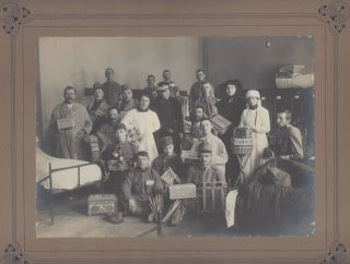 Photo-Documentation of Occupational Therapy for Wounded and Mentally Ill Soldiers of World War I, in Transylvania Between 1914–1917.